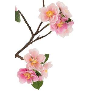 Bloss Arbore artificial cu flori, Plastic, Roz