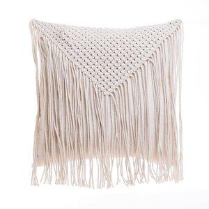 Boho Perna decorativa, Textil, Bej