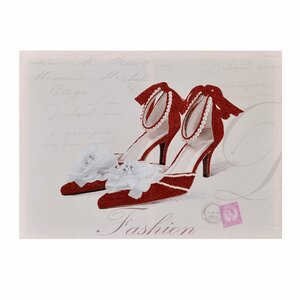 Bows Tablou pantofi, Canvas, Multicolor