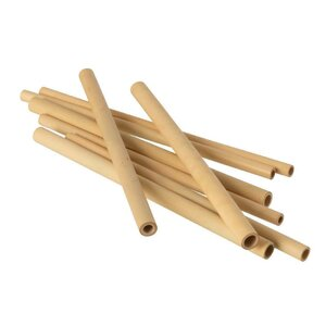 Bren Cutie 8 bete bambus, Lemn, Bej