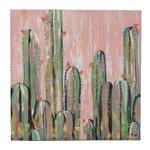 Cactus Tablou, Canvas, Multicolor