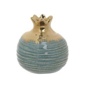 Catar Decoratiune rodie, Ceramica, Albastru