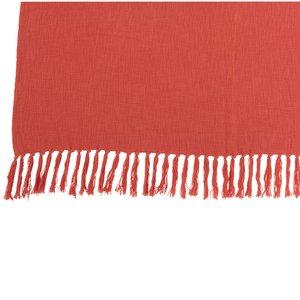 Croch Pled, Bumbac, Portocaliu