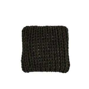 Curly Perna decorativa, Textil, Gri