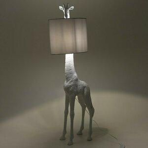 Darida Lampadar girafa, Polirasina, Alb