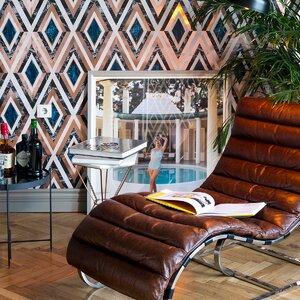 Diamonds Copper Tapet, Netesut, Multicolor