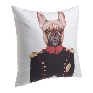 Dog Perna decorativa, Textil, Multicolor
