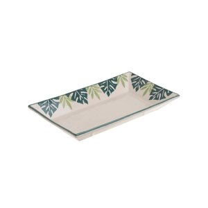 Ecuator Bol frunze, Ceramica, Alb