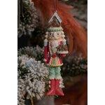 Fakhir Set 2 decoratiuni suspendabile, Polirasina, Multicolor