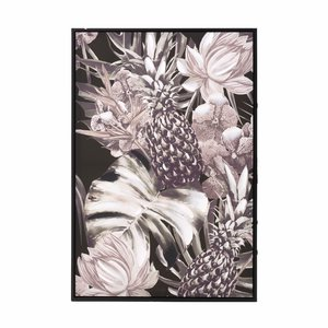 Flower Tablou, Canvas, Multicolor