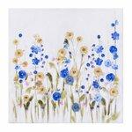 Flowers tablou, Canvas, Multicolor