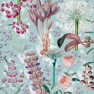 Garden Of Eden  Aquamarine Set 3 role tapet, Netesut, Multicolor