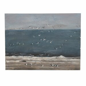 Gulls Taboul ocean, Canvas, Multicolor