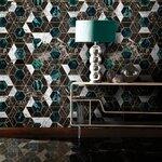 Hexa Onyx Tapet, Netesut, Multicolor