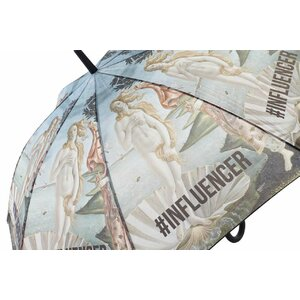Influencer Umbrela, Plastic, Albastru