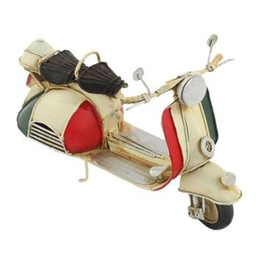 Italy Decoratiune miniatura scooter, Metal, Multicolor