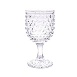 Jeremiah Set 6 pahare vin, Sticla, Transparent