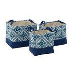Kovic Set 3 cosuri, Textil, Albastru