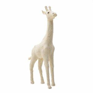 Melvin Decoratiune girafa, Textil, Alb