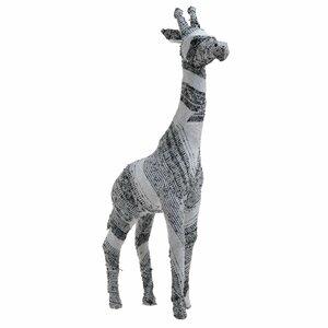 Melvin Decoratiune girafa, Textil, Negru