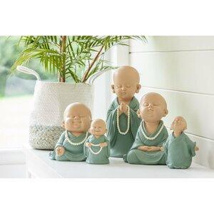 Monk Chain Pray Decoratiune, Polirasina, Verde