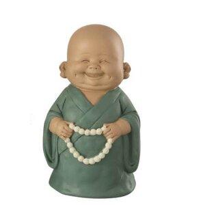 Monk Chain Smile Decoratiune, Polirasina, Verde