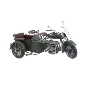 Moto Decoratiune, Metal, Verde