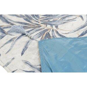 Nature Traversa masa, Textil, Albastru