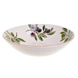 Oliver Bol mare, Ceramica, Alb