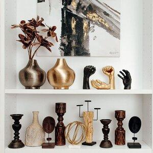 Palm Decoratiune palma, Polirasina, Negru