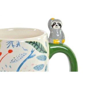 Panda Cana 3D, Ceramica, Multicolor
