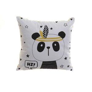 Panda Perna decorativa, Textil, Alb