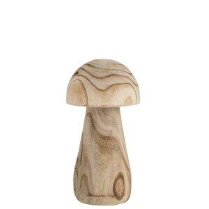 Paul Decoratiune ciuperca mare, Lemn, Bej