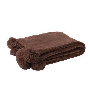 Pompom Pled, Textil, Maro