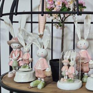 Rabbit Dresses Cutie muzicala, Polirasina, Multicolor