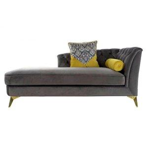 Rahim Canapea divan, Textil, Gri