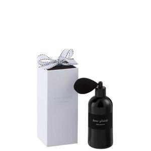 Saphire Odorizant Spray, Sticla, Negru