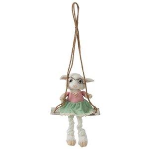 Sheep Decoratiune suspendabila, Iuta, Multicolor