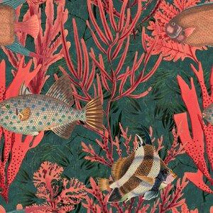 The Undersea  Set 3 role tapet, Netesut, Multicolor