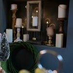 Theodore Ghirlanda decorativa, Textil, Verde