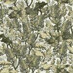 Tree Foliage Set 3 role tapet, Netesut, Verde