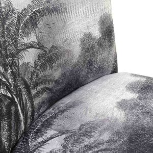 Tropical Scaun, Textil, Gri