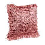 Waves Perna decorativa, Textil, Roz