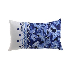 Zaraza Perna decorativa mica, Bumbac, Albastru