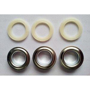 Capse rotunde zincate metal+ABS