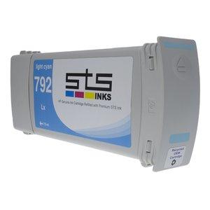 Cerneală STS latex 792, cartuș 775ml, compatibil  HP DesignJet L26500 | DesignJet L28500 | DesignJet LX260 | DesignJet LX280 Light Cyan
