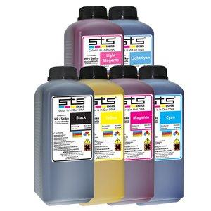 Cerneală STS low solvent, bidon 1L, compatibil HP 9000 | HP10000 | Seiko 64