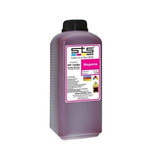 Cerneală STS low solvent, bidon 1L, compatibil HP 9000 | HP10000 | Seiko 64 Magenta