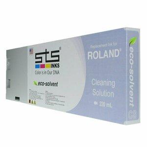 Lichid de curățare STS Eco, cartuș 220 mL, compatibil Roland Eco-Sol MAX® și Eco Sol-MAX 2®