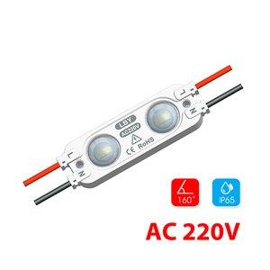 Modul lentilă 2 LED SMD2835 1,2W 220 V MacroLight